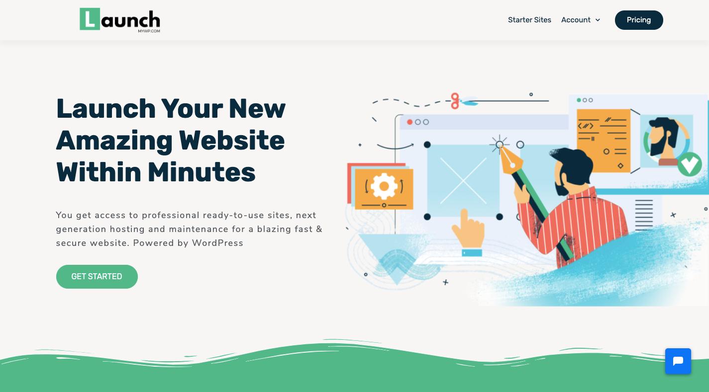 LaunchMyWP - recurring revenue WordPress business